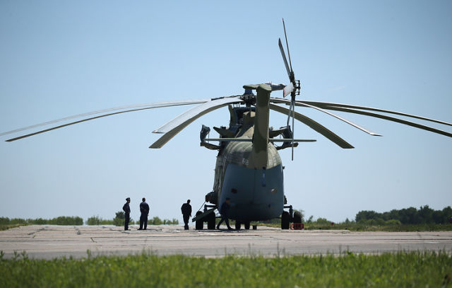 Тяжелый многоцелевой транспортный вертолет Ми-26Т2В