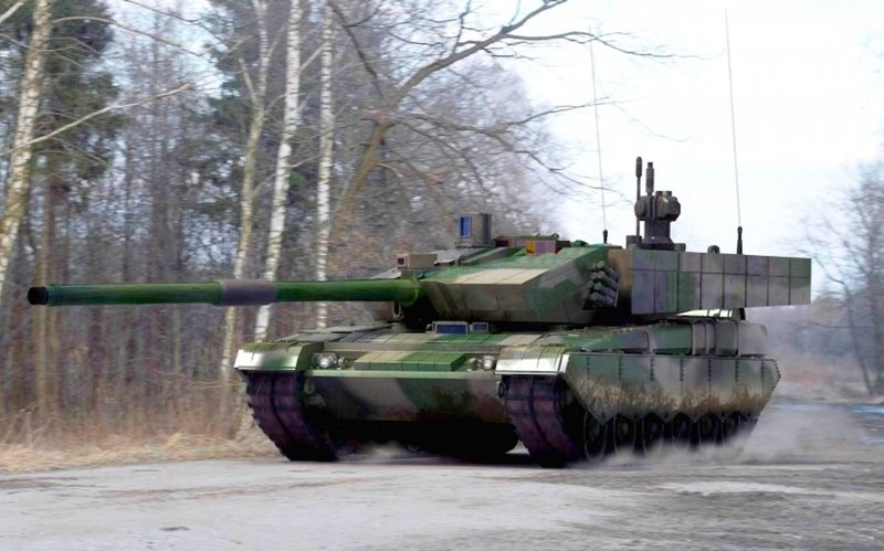 Предположительно прототип танка Тип 99А2 (Китай).