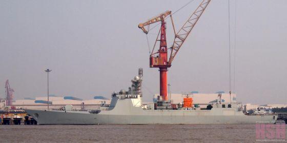 Ракетный эсминец Тип 052D