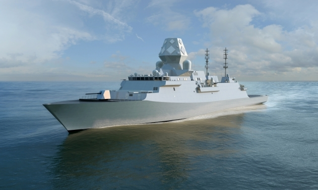 Перспективный британский фрегат проекта Type 31.