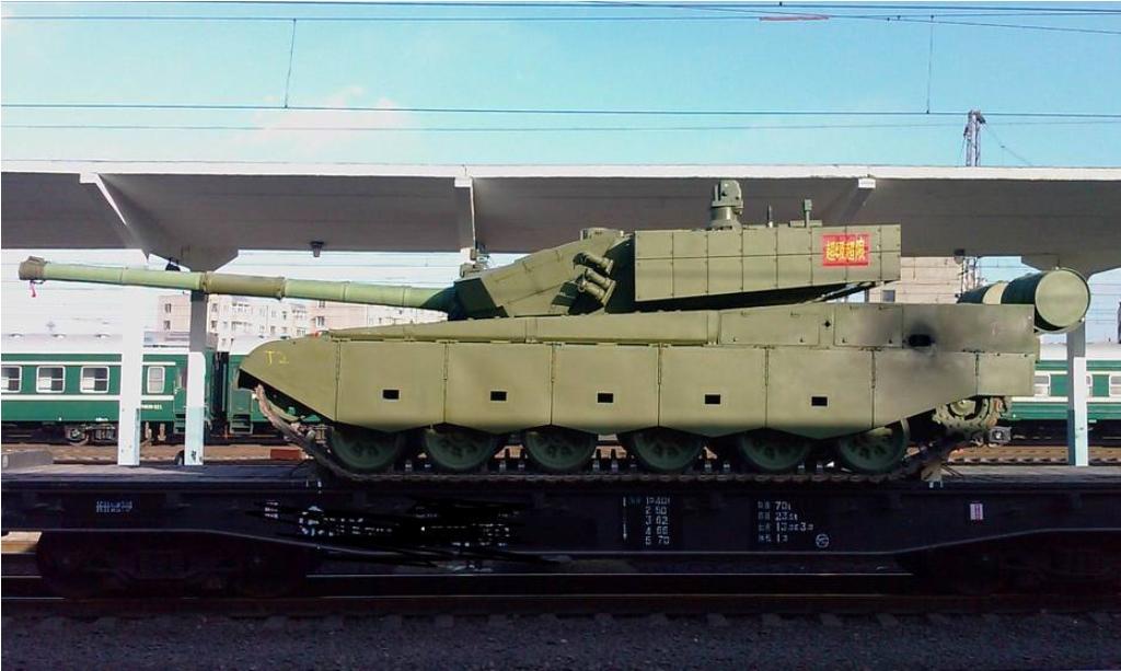 Китайский танк Type 99A2.