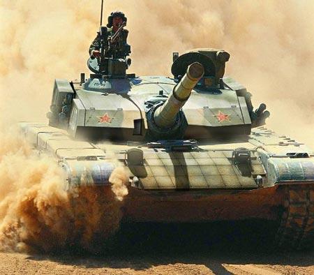 Китайский основной боевой танк Type 99G.