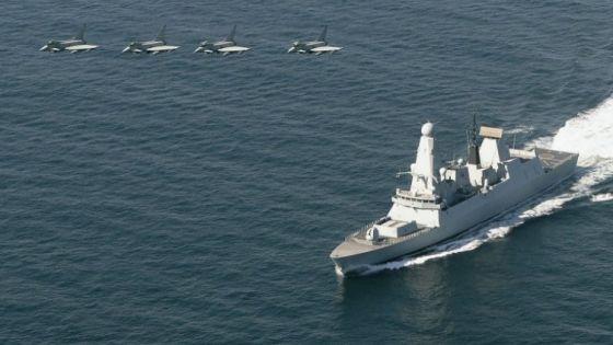 Эсминец Тип 45 HMS Defender
