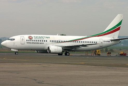 "Boeing-737 АК ""Татарстан""."