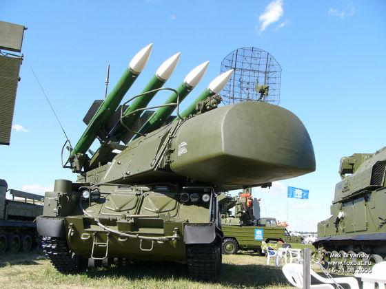 Бук-M1-2 (9A310M1-2)