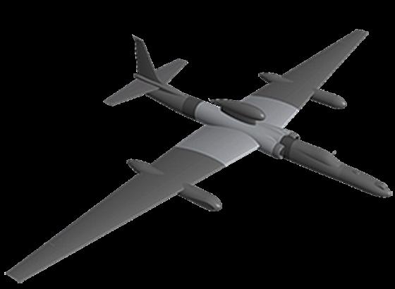 Рисунок самолета U-2