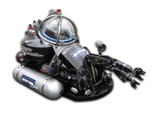 Канадский глубоководный аппарат, представленный у нас, как АРС-600.