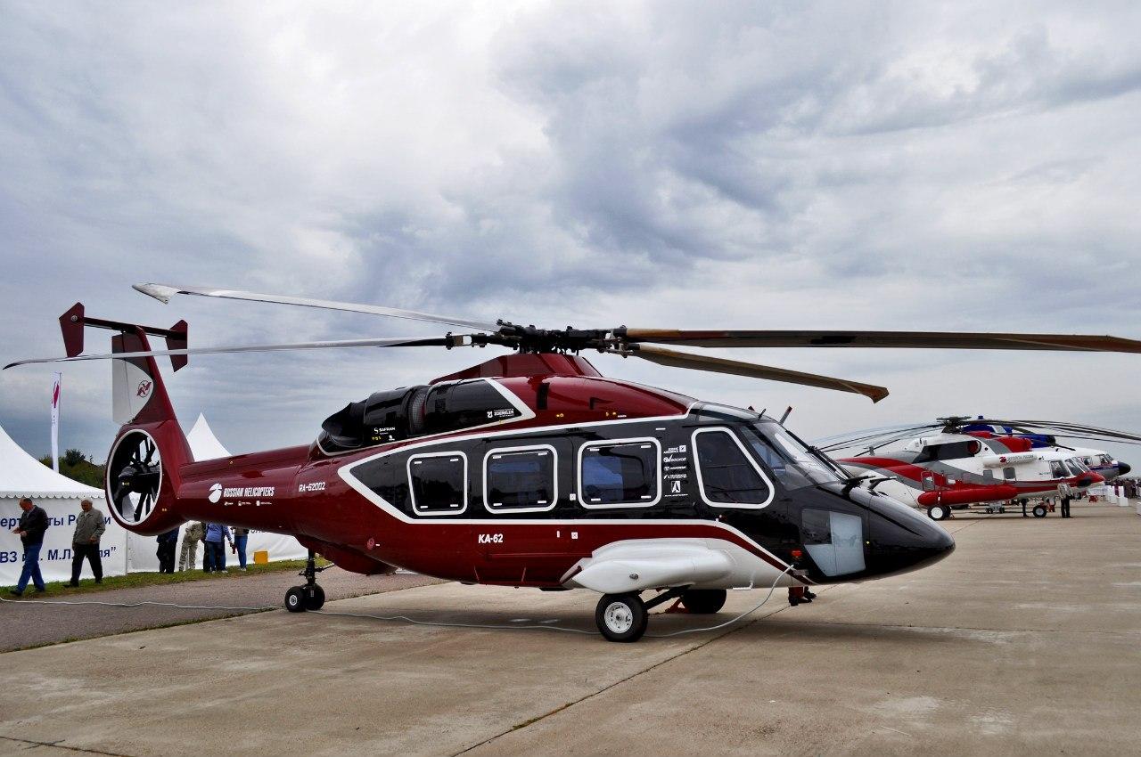 Многоцелевой вертолет Ка-62.