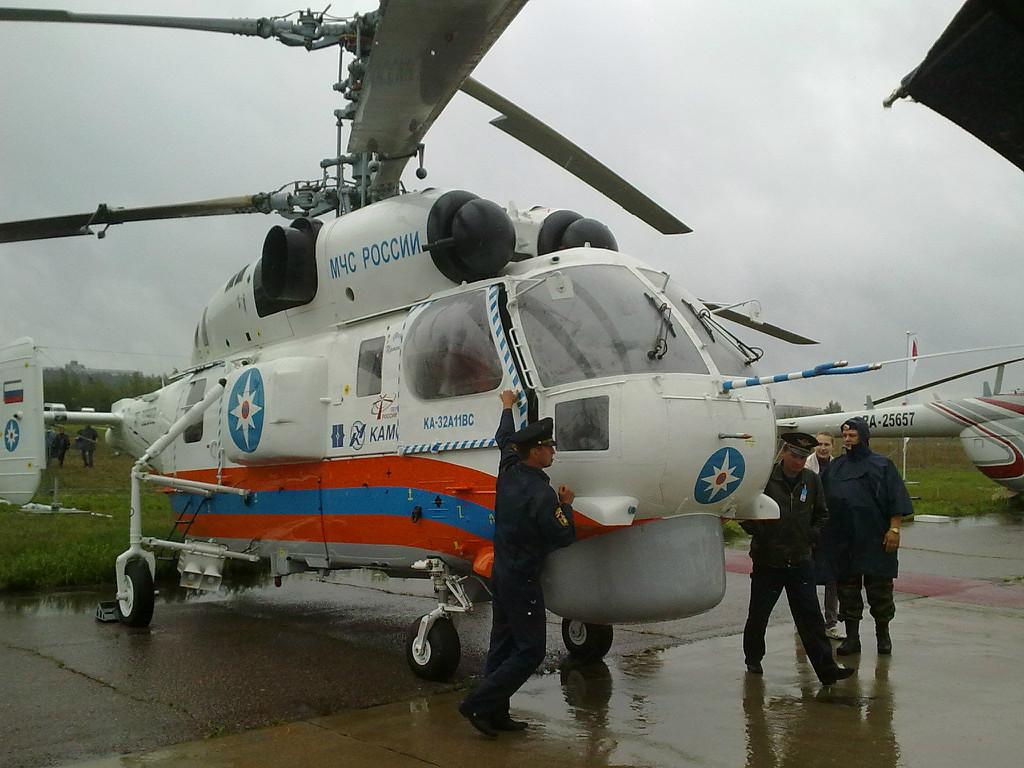Вертолет Ка-32 МЧС.