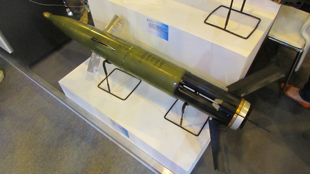 «Краснополь» — корректируемый артиллерийский боеприпас калибра 152 (155) мм. Предназначен для поражения бронированных целей и инженерных сооружений с первого выстрела.