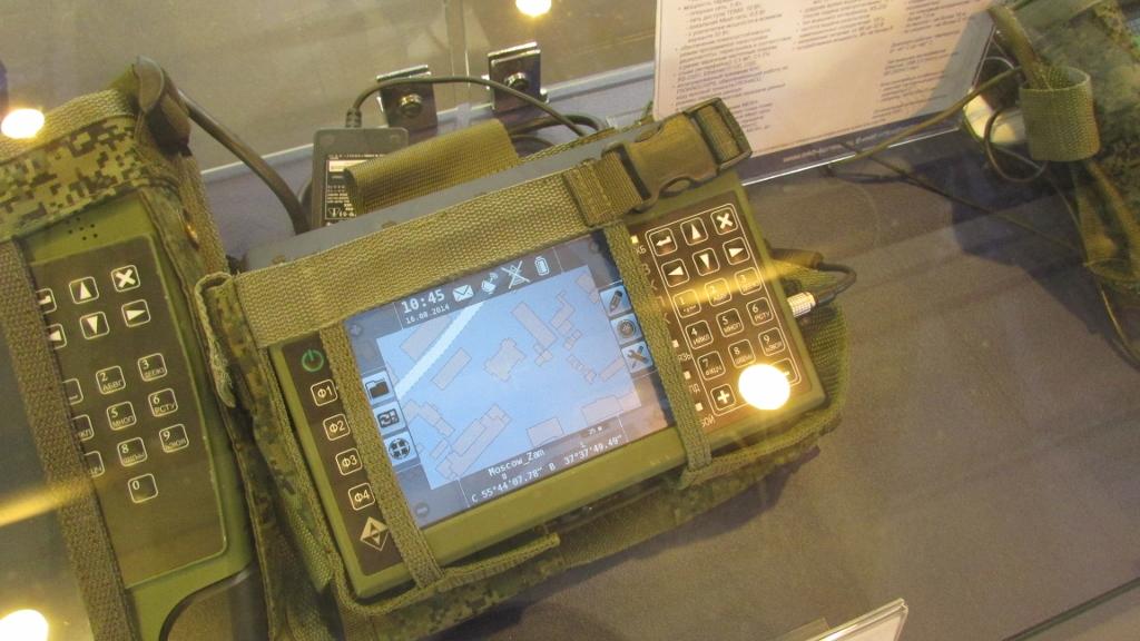 Защищенный командирский планшет для младшего командного состава.