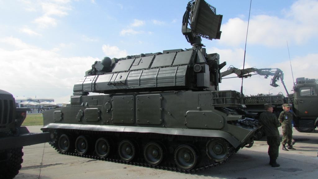 """Российский модульный зенитный ракетный комплекс  малой дальности """"Тор-М2"""""""