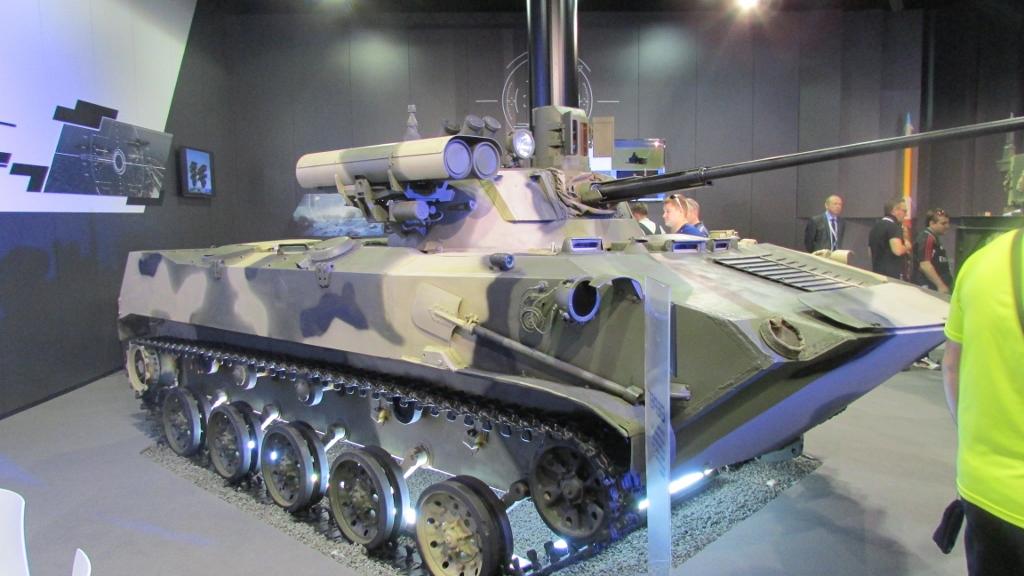 Комплекс вооружения с СУО и управляемым вооружением на шасси БМД-2.