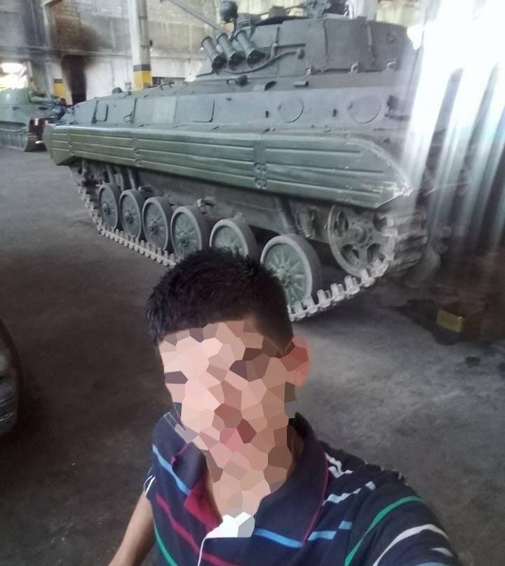 ВС Сирии - БМП-2.