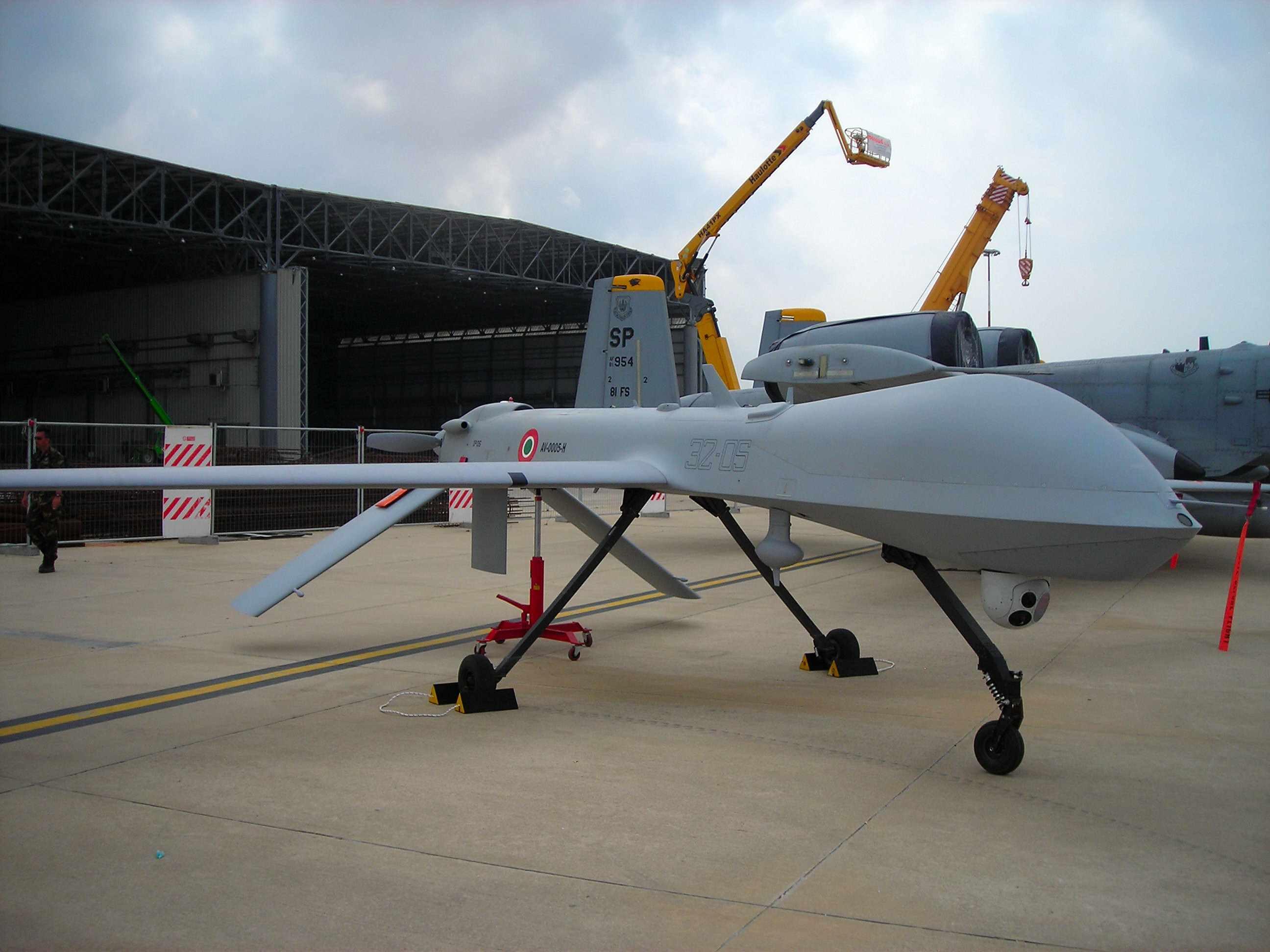 БЛА MQ-1 Predator ВВС Италии.