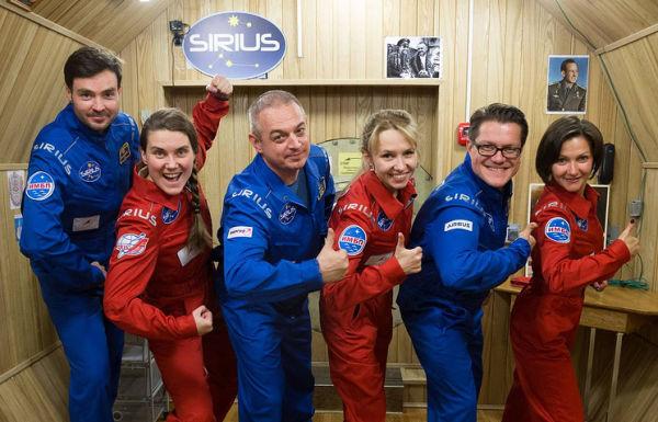 Участники наземного эксперимента SIRIUS-17
