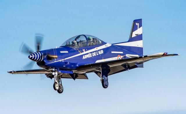 Учебно-тренировочный самолет PIlatus PC-21 ВВС Франции