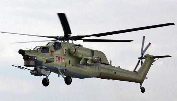 Учебно-боевой вертолет Ми-28УБ. Архивное фото