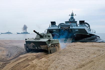 Учения Балийского флота в Калининградской области