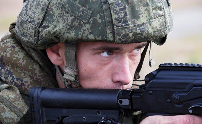 Десантно-штурмовая бригада на учениях в Приморье отработала захват выгодных рубежей