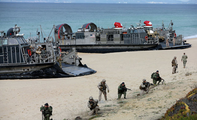 Учения НАТО Trident Juncture-2015