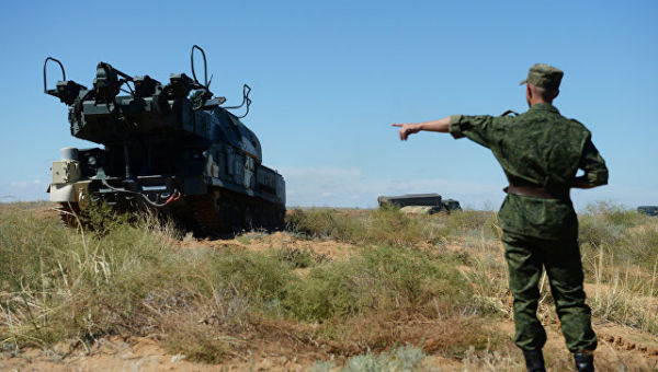 Учения объединенной системы ПВО стран СНГ Боевое Содружество. Архивное фото