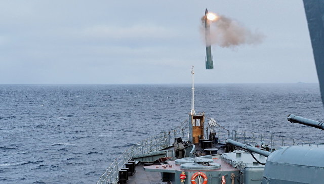 Учения Северного флота в Арктике. Архивное фото.