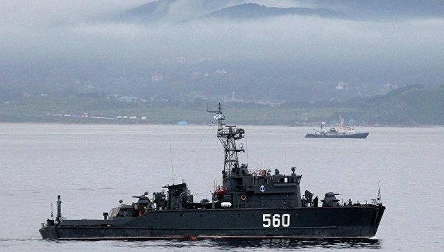 Учения Тихоокеанского флота. Архивное фото.
