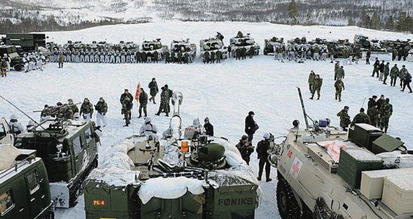 Учения войск НАТО