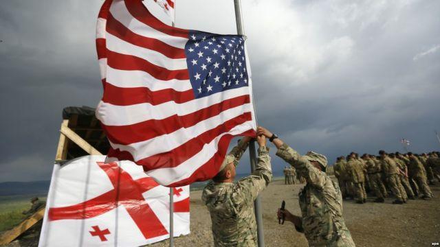 Учения ВС Грузии и США
