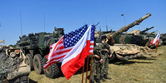 Учения ВС США и Польши