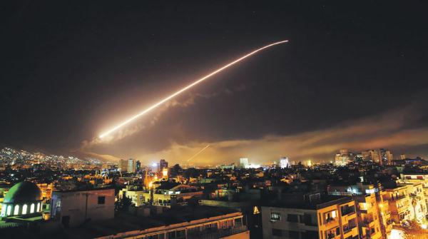 Удар по Сирии 14 апреля 2018г.