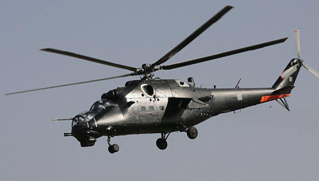 Ударный вертолет Ми-35М.