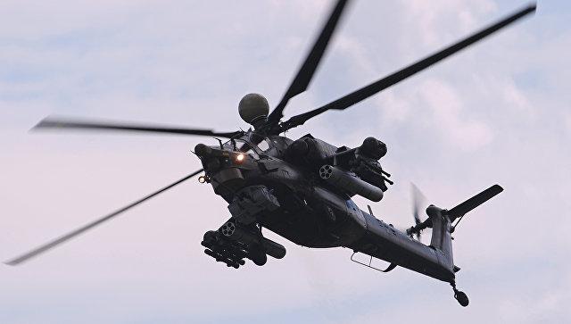 Ударный вертолёт Ми-28НМ. Архивное фото.