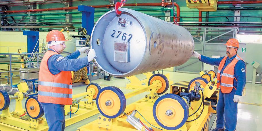 На УЭХК с начала года внедрили почти 12 тысяч рацпредложений с экономическим эффектом более 15,5 млн рублей