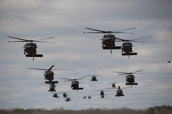 Вертолеты UH 60 Black Hawk