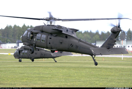 Вертолеты Sikorsky UH-60M Black Hawk (Hkp 16A)