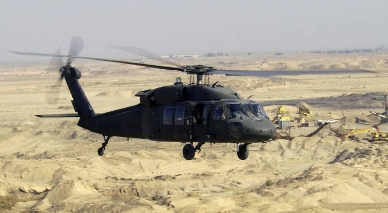 UH-60 Black Hawk.