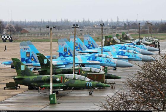 Самолеты ВВС Украины