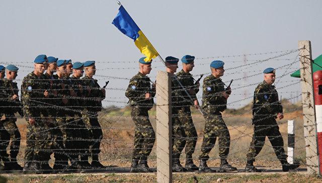 Украинские десантники. Архивное фото.