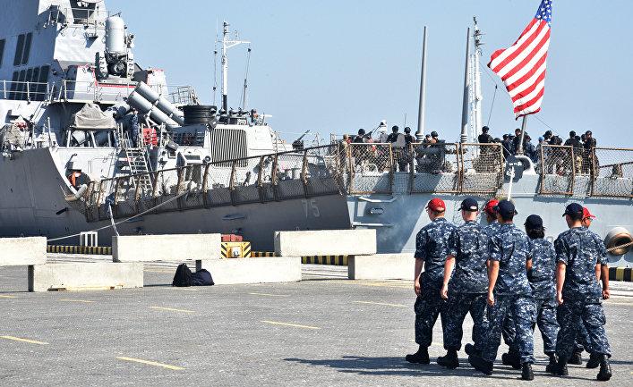 Украинско-американские военные учения Sea Breeze.