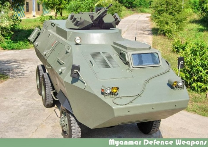 Боевая машина пехоты ULARV-3 ВС Мьянмы.
