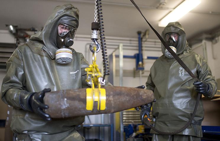 Уничтожение химического оружия.