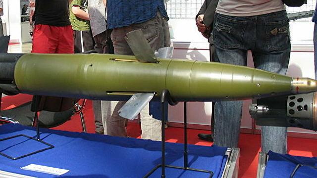 """Управляемый снаряд """"Краснополь"""""""