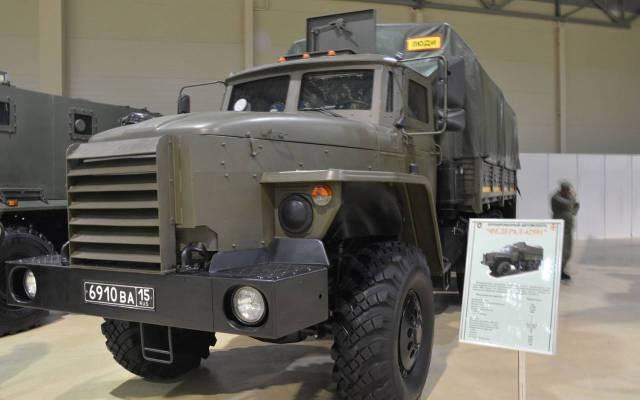 Бронированный автомобиль «Федерал» для Росгвардии на шасси «Урал-4320».