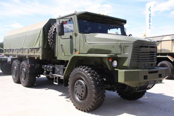 Автомобиль Урал-63704-0010