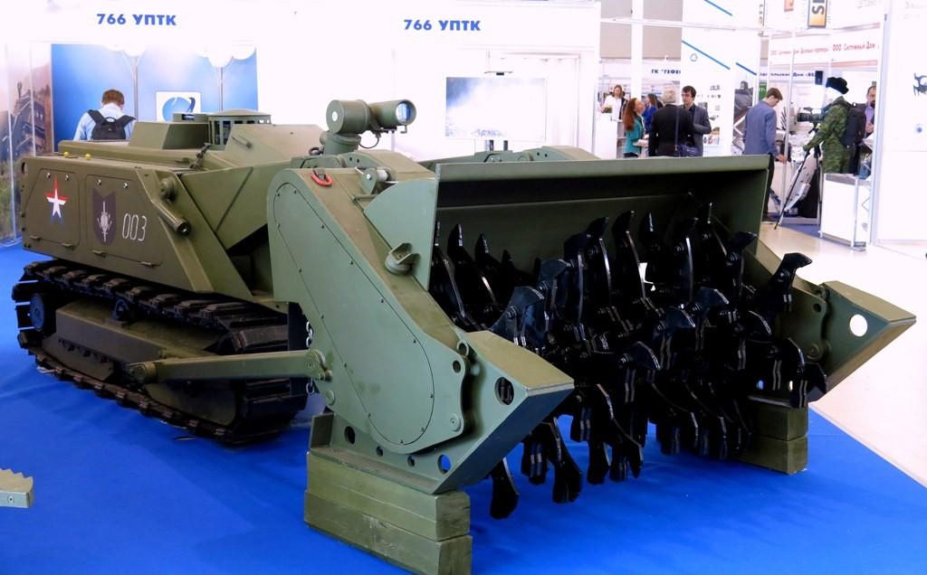 """Робототехнический комплекс """"Уран-6"""""""