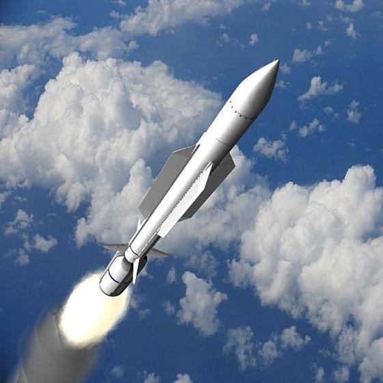 SM-6 ERAM Missile