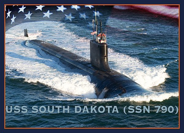 USS South Dakota.