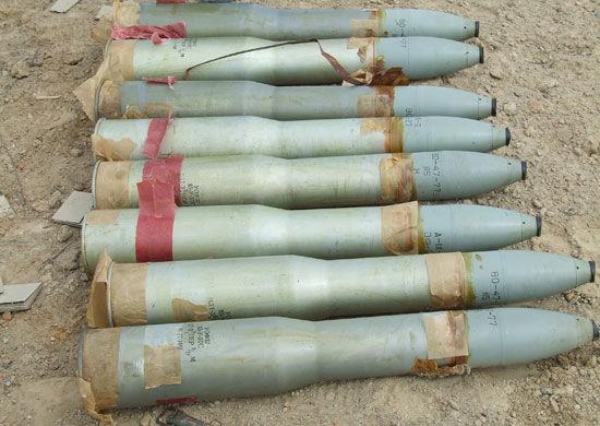 Боеприпасы на утилизацию